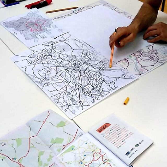Carl route mapping Leeds, 2015